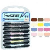 Promarker Winsor&Newton Set nº 2 12 colores + 1 blender gratis 3927c