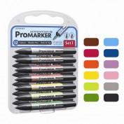 Promarker Winsor&Newton Set 1 12 rotuladores + 1 blender gratis
