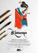Libro de Arte para Colorear Diseños de Kimono