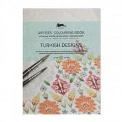 Libro de Arte para Colorear Diseños Turcos