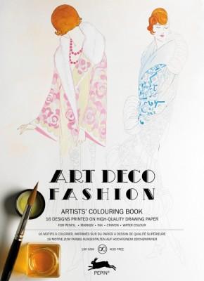 Libro de Arte para Colorear Arte Decorativo Fashion