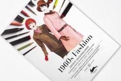 Libro de Arte para Colorear 1960s Fashion