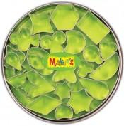 Caja Cortadores Makins Figuras geométricas 37003