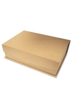 2 Cajas cartón amaderado stamperia kc52