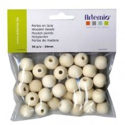 Artemio 30 bolas de madera 14001691