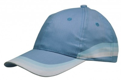Gorra algodón con degradado de color vi1057 Azul claro