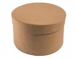 Caja papel maché redonda Insspiro pm1052b