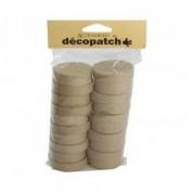 10 cajitas redondas Decopatch ev009o