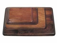 Peanas Madera Color Caoba 11032