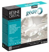 Resina Cristal  Epoxi Gedeo 750 ml Mixed Media