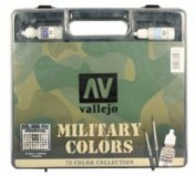 Model Color Vallejo Maletin colores militares 70173