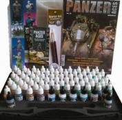 Panzer Aces Vallejo Maletin 72 colores 70174