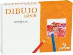 Papel Basik A4+ 130 gr con cajetín 0401576