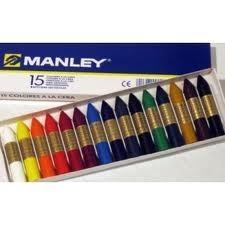 Caja 15 Ceras Manley