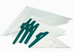 Escuadras Linex 21,5 cm A4532 Numerada
