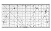 Regla Patchwork MQR 15x30