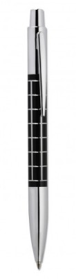 Bolígrafo metal pulsador Square vi1756