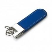 Llavero Piel color Azul 2385.4