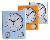 Reloj de Pared con termómetro e higrómetro 1868.10