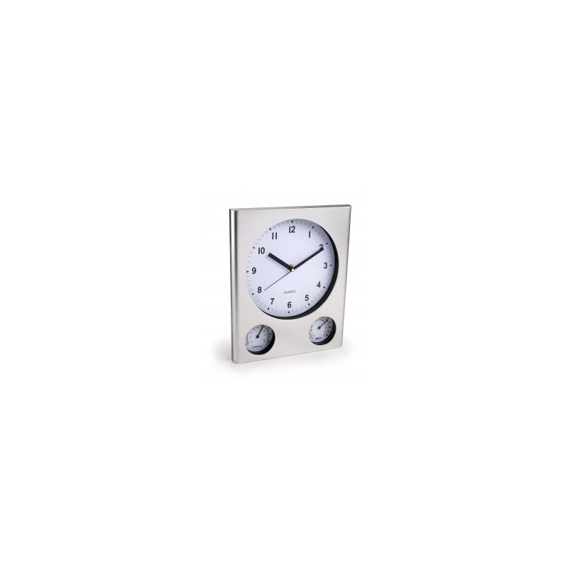 Reloj de pared con term metro e higr metro - Termometro de pared ...