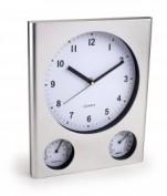 Reloj de Pared con termómetro e higrómetro 1868.15
