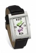 Reloj pulsera rectangular con correa piel VI-D2596