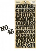 Graphic45 Alphabet Stickers
