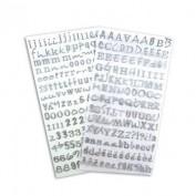 Alfabeto de Purpurina Glitter STB 08