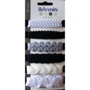 Cintas Scrapbook Blanco/Negro Artemio 11005039