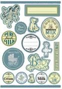 Etiquetas precortadas autoadhesivas Stamperia df3da519 Baby