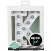 Letras con luz Marquee Love K