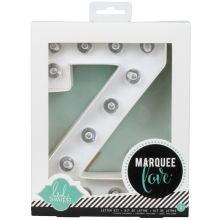 Letras con luz Marquee Love Z